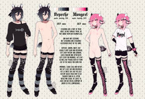 + DEPECHE and MONGREL + ref sheets