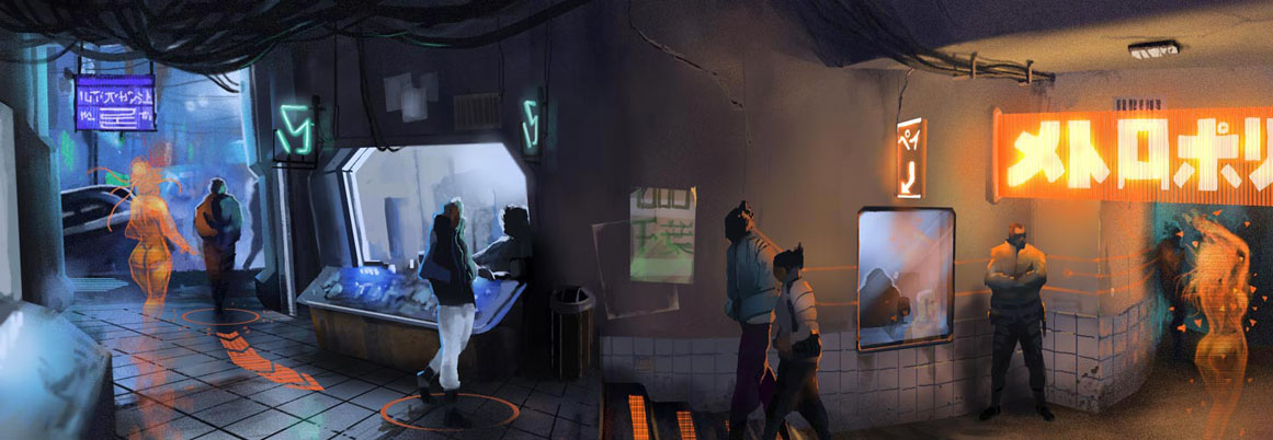 Neuromancer - Nightclub by PHATandy