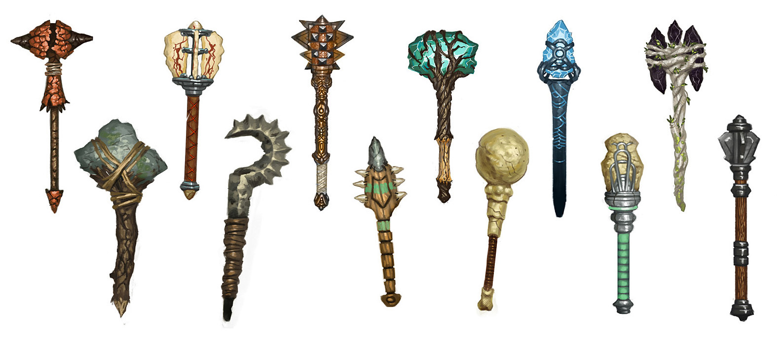 The Mace Collection by PHATandy on DeviantArt