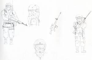 Terrorist + CT sketch