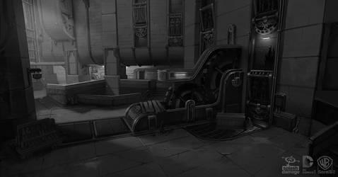 Batman Arkham Origins: RobotArmy Corner