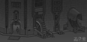 Batman Arkham Origins: RobotArmy Machinellania
