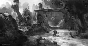 Swamp Border by PHATandy