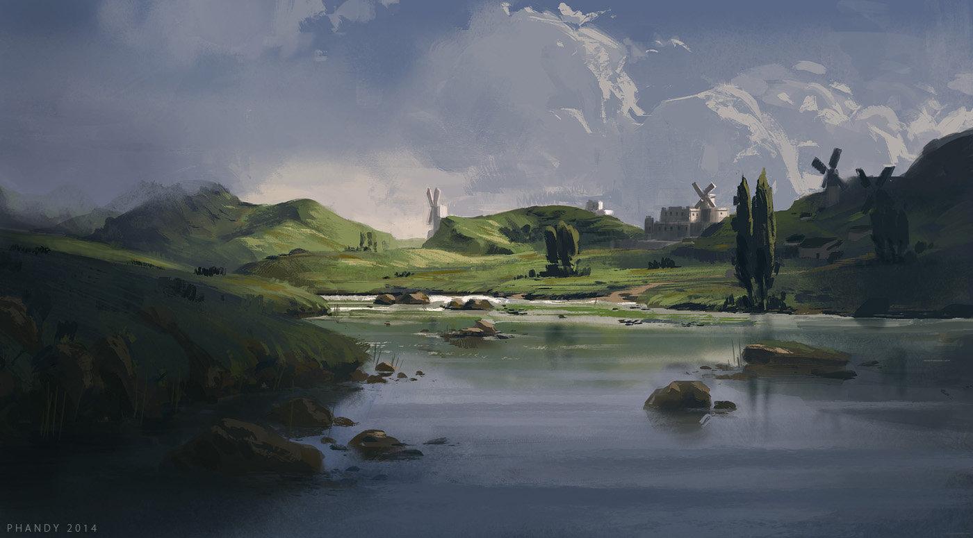 Windmills by PHATandy