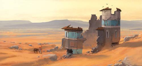 Deserted Desert by PHATandy