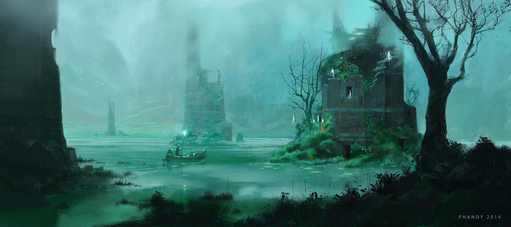The Children of Lake Ohmi by PHATandy