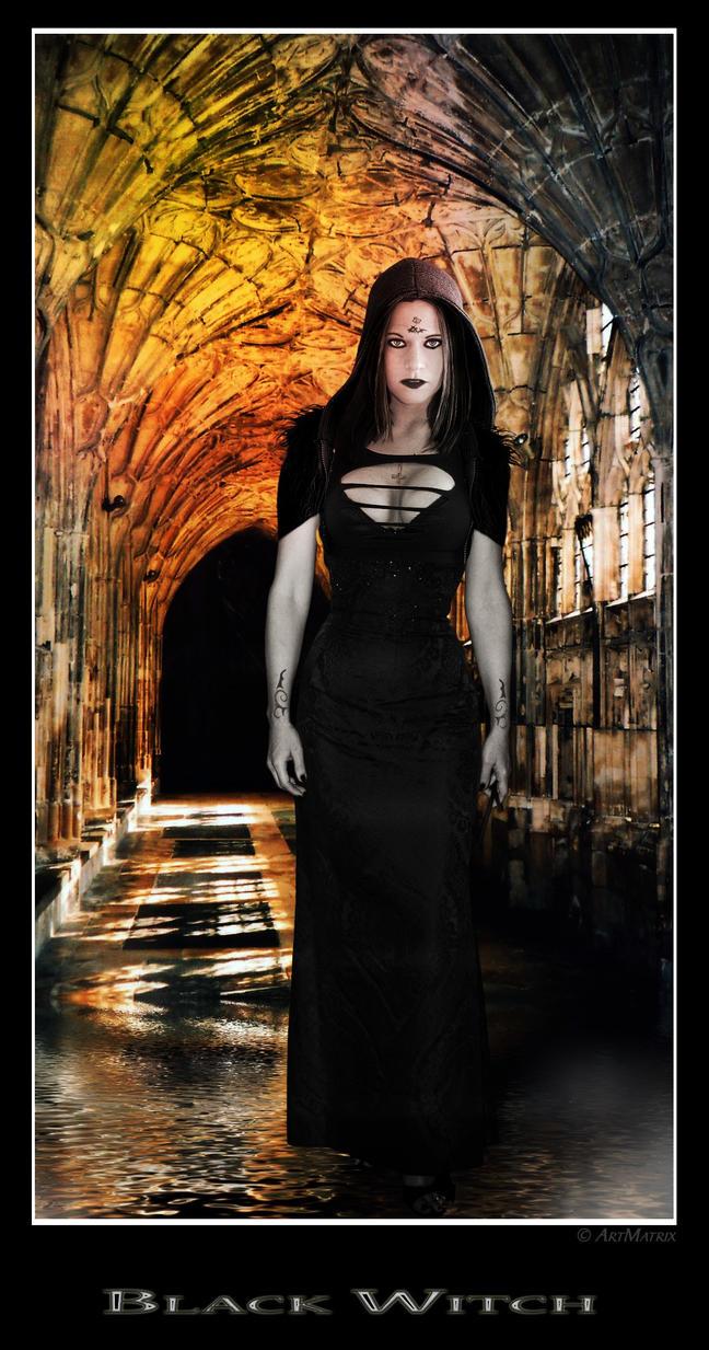 Black Witch by artmatrix