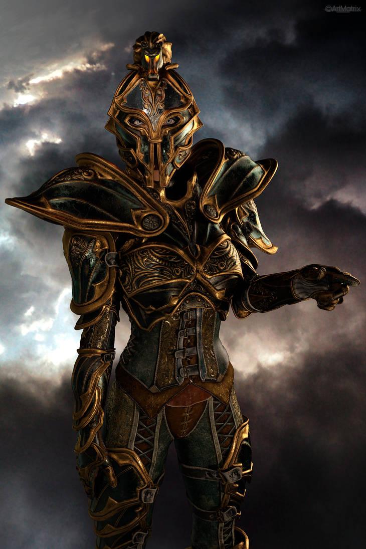 Knight by artmatrix