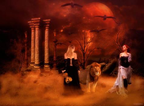Witch-Ali Azamia and Melody Azamia