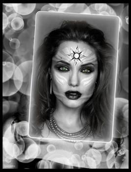 Angelina as Goth