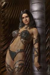 Alexandra D. as Amazone