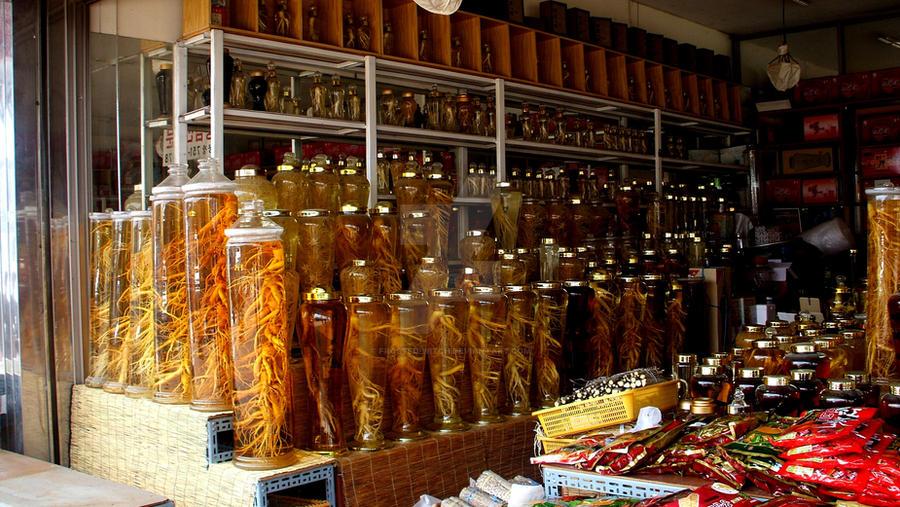 Ginseng shopping
