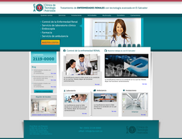 Web design - Clinicas