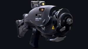 Sci- fi gun desing