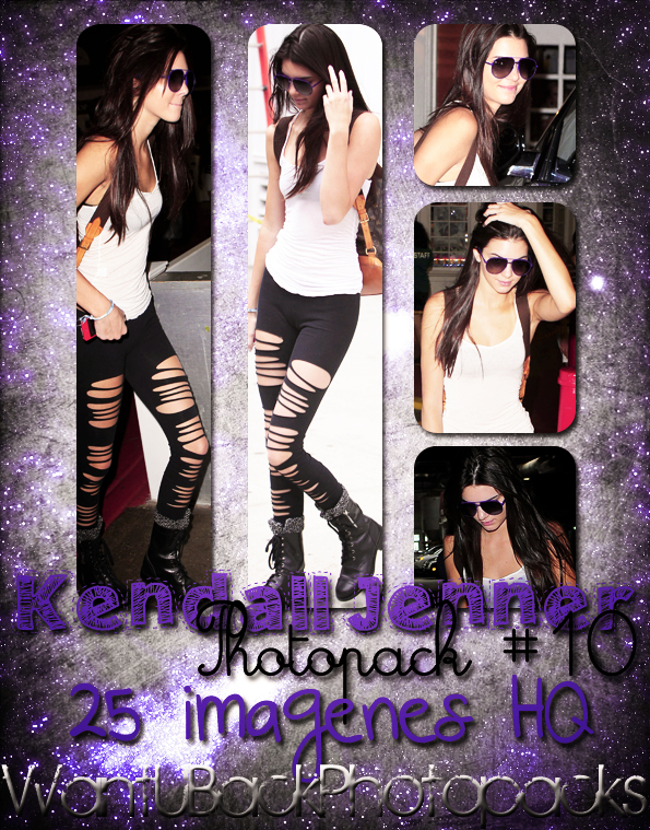 Photopack 865: Kendall Jenner by PerfectPhotopacksHQ