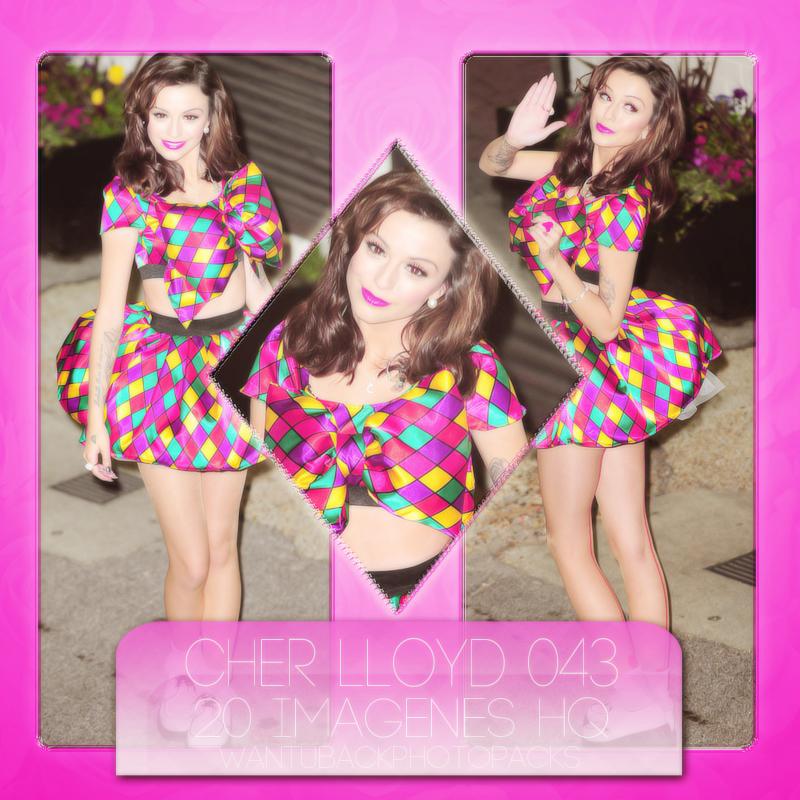 Photopack 1087: Cher Lloyd by PerfectPhotopacksHQ