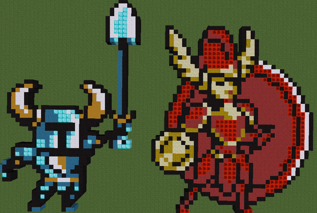 minecraft shovel knight