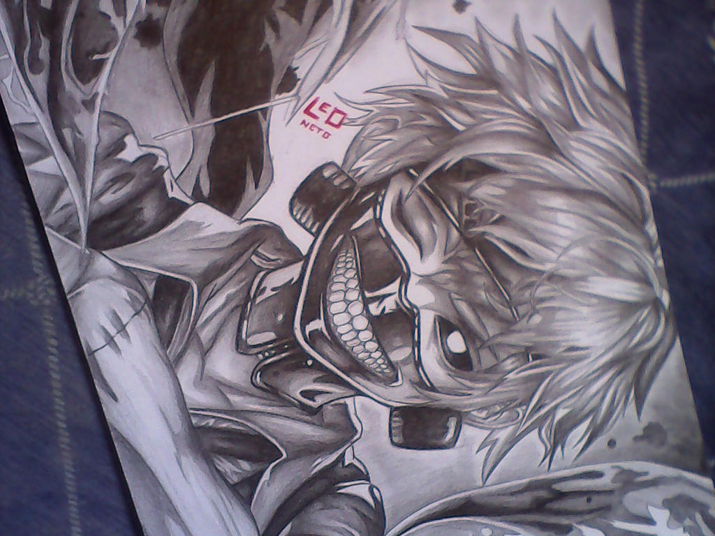 Tokyo Ghoul by Leoneto
