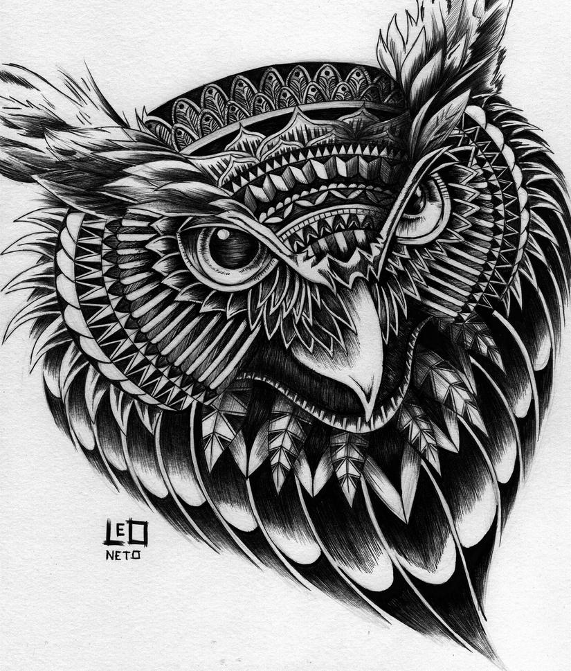 Owl by Leoneto