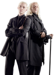 DRACO AND LUCIUS MALFOY II - RENDER