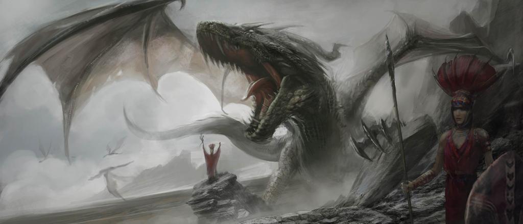 Dragon by zihankylechen
