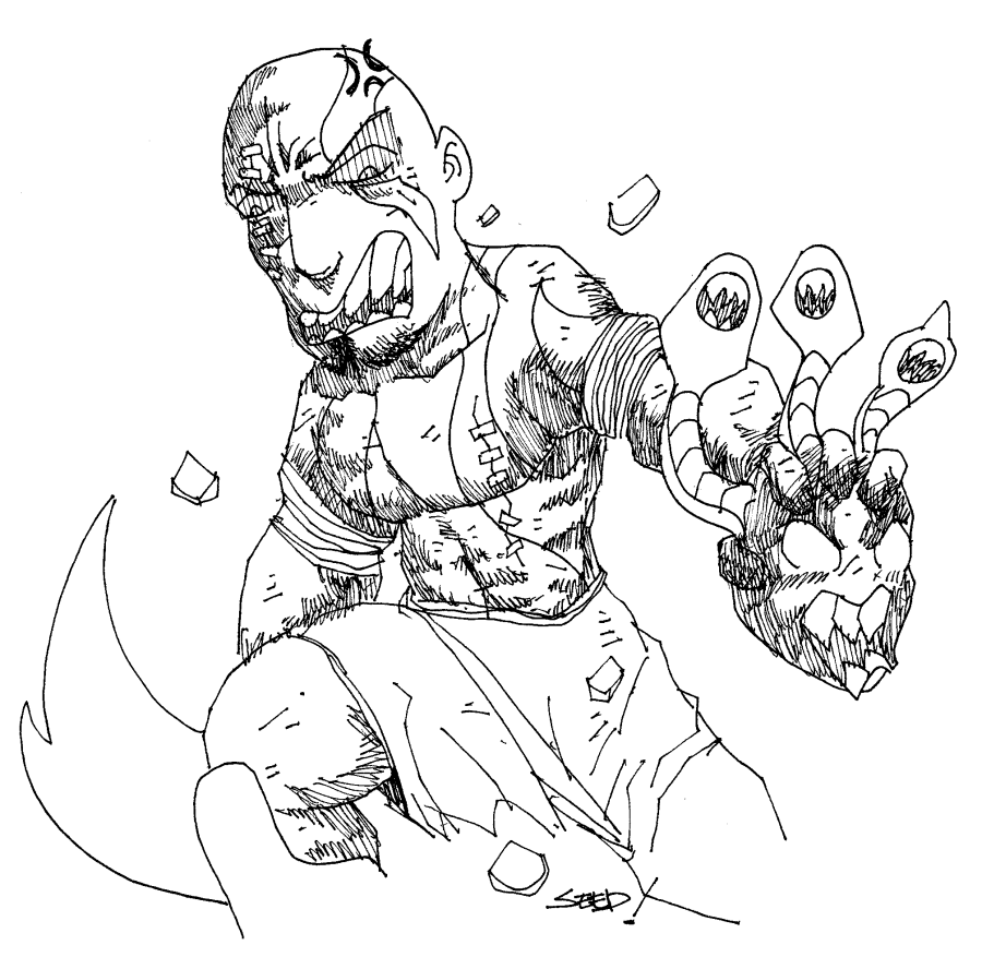 god of war coloring pages - photo #7