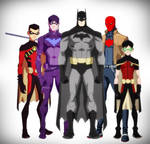 BatFamily - Young Justice Style