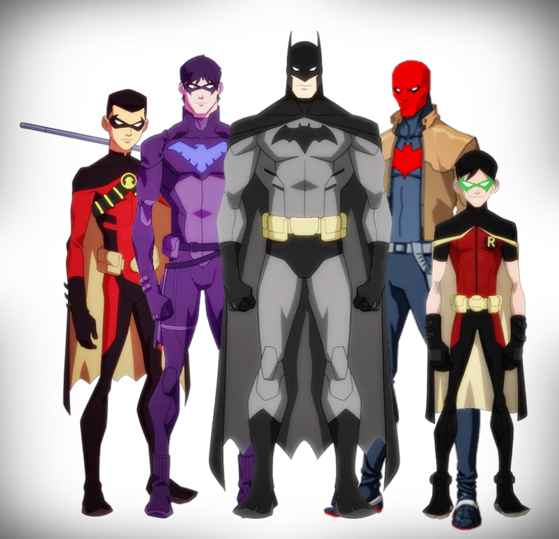 BatFamily - Young Justice Style by DraganDYoung Justice Bat Family