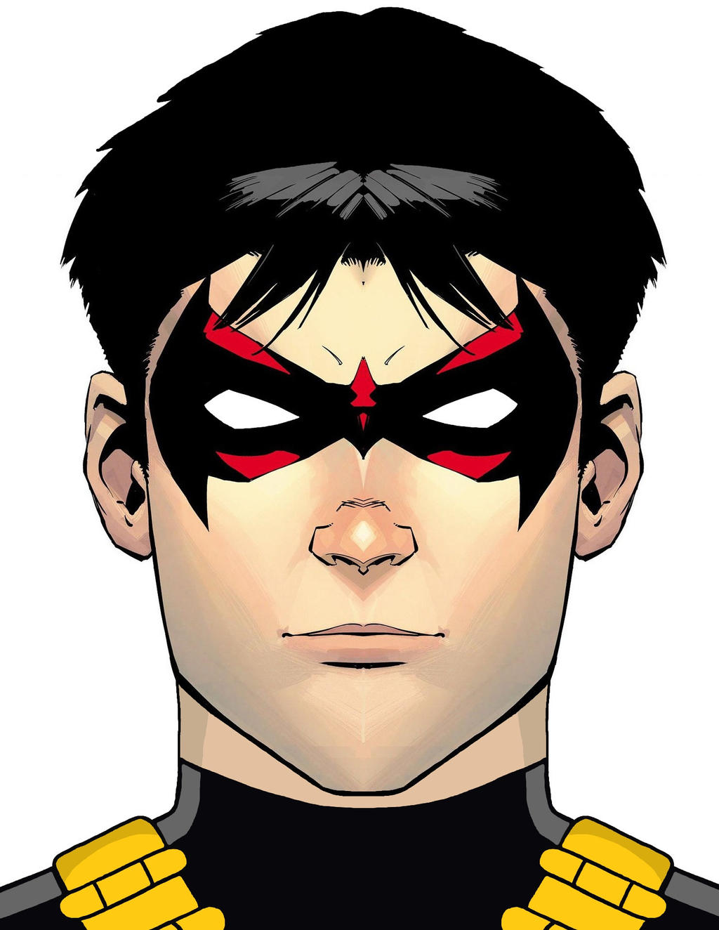 Red Robin - New 52 Version by DraganD on DeviantArt