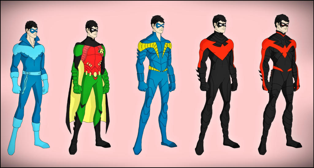 Dick Grayson - The New 52 Evolution by DraganDDick Grayson New 52 Nightwing