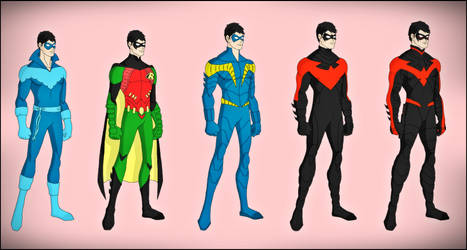 Dick Grayson - The New 52 Evolution