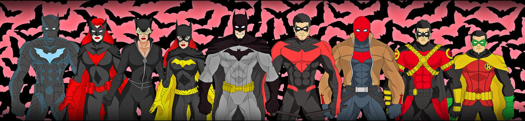 The BatFamily - New 52 by DraganD