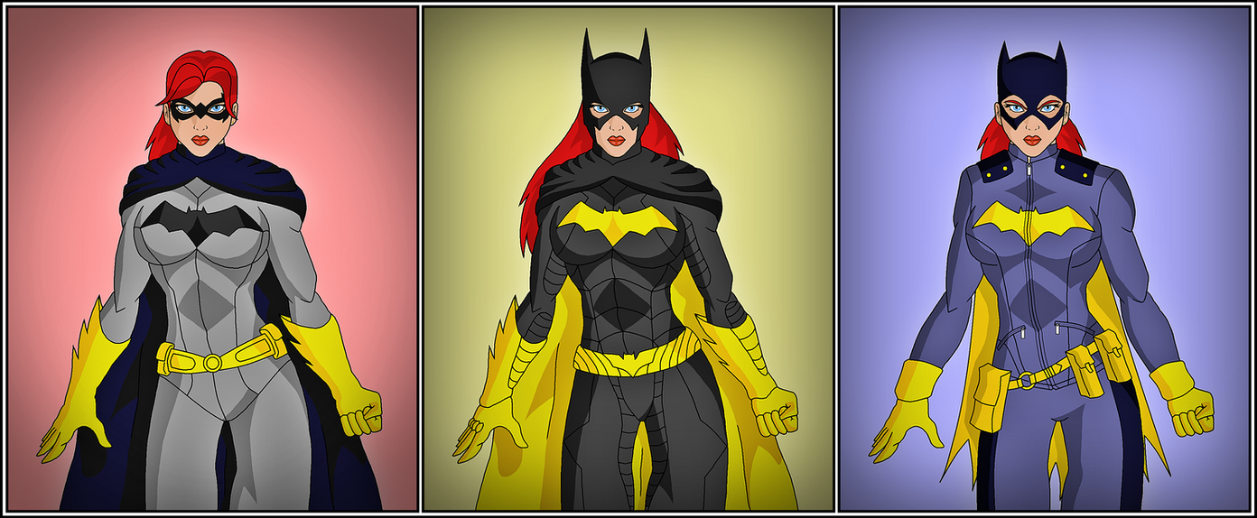 Batgirl - The New 52 Evolution by DraganD