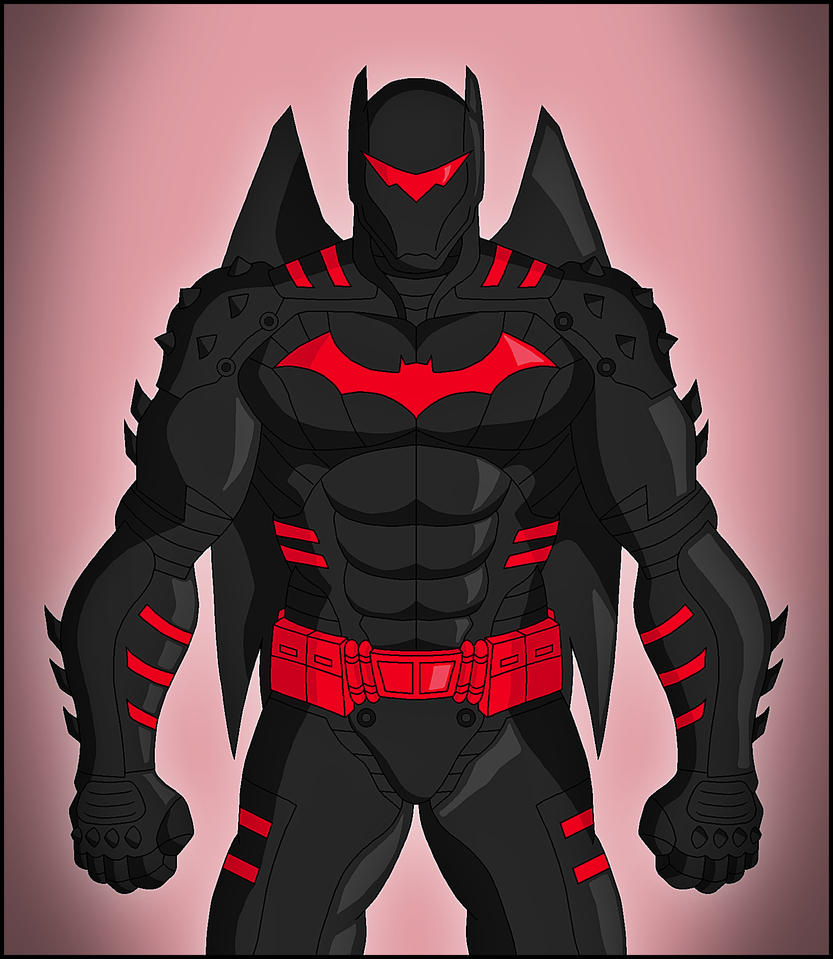 Batman - Hellbat suit by DraganD
