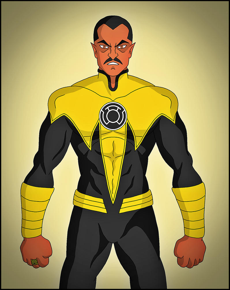 Sinestro by DraganD