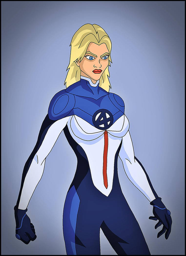 Invisible Woman by DraganD