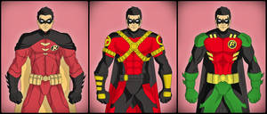 Tim Drake - New 52 Evolution by DraganD