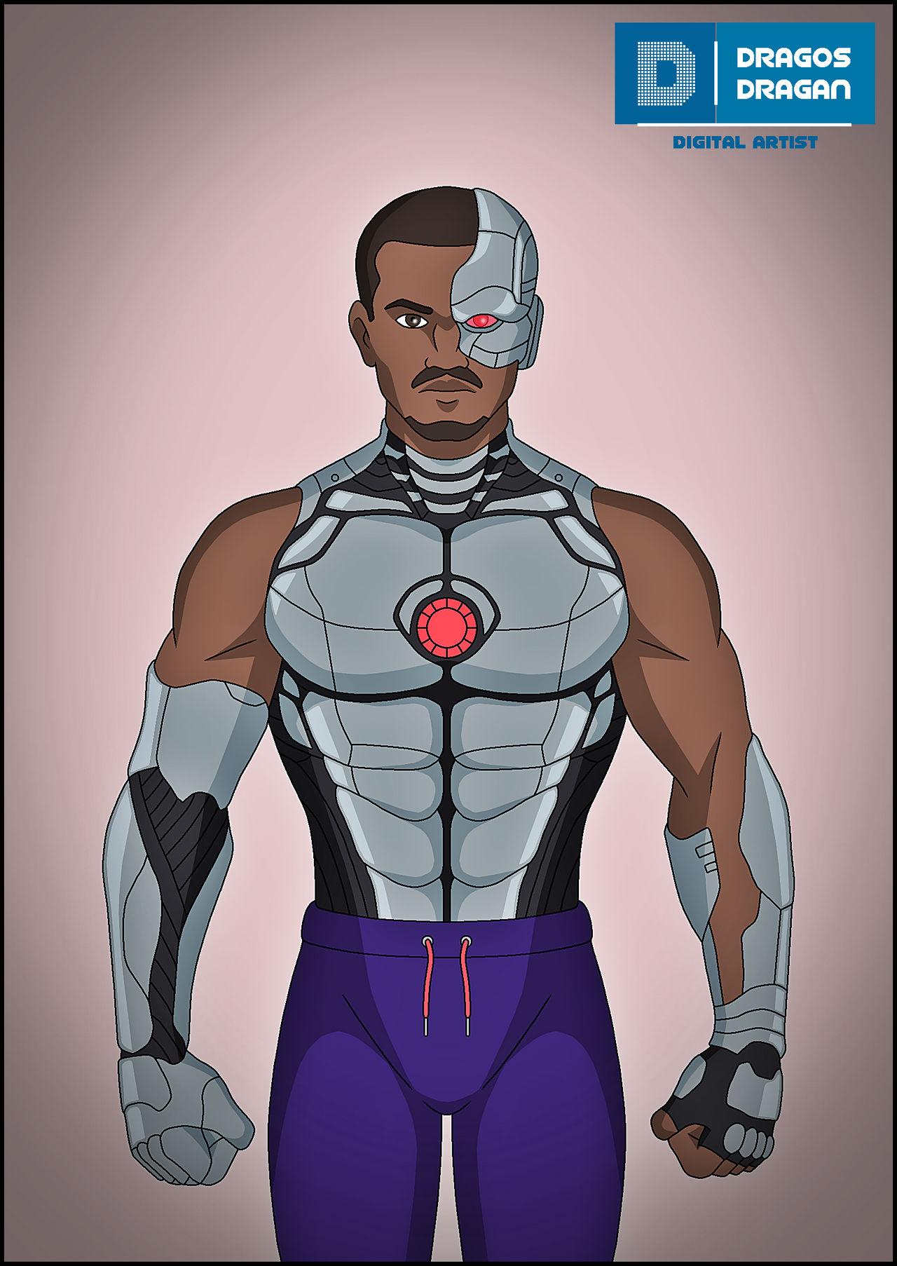 Cyborg Doom Patrol By Dragand On Deviantart