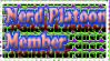 Nerd Platoon Member stamp by ShadowTerra345