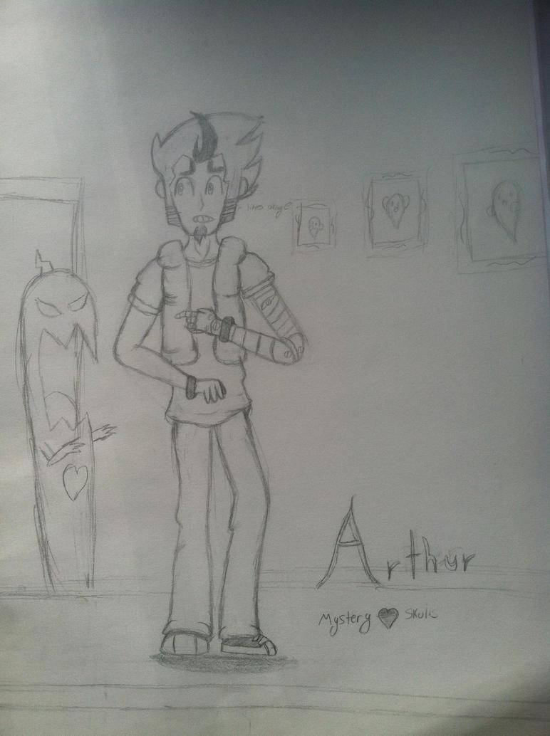 Arthur Mystery Skulls by spamano12