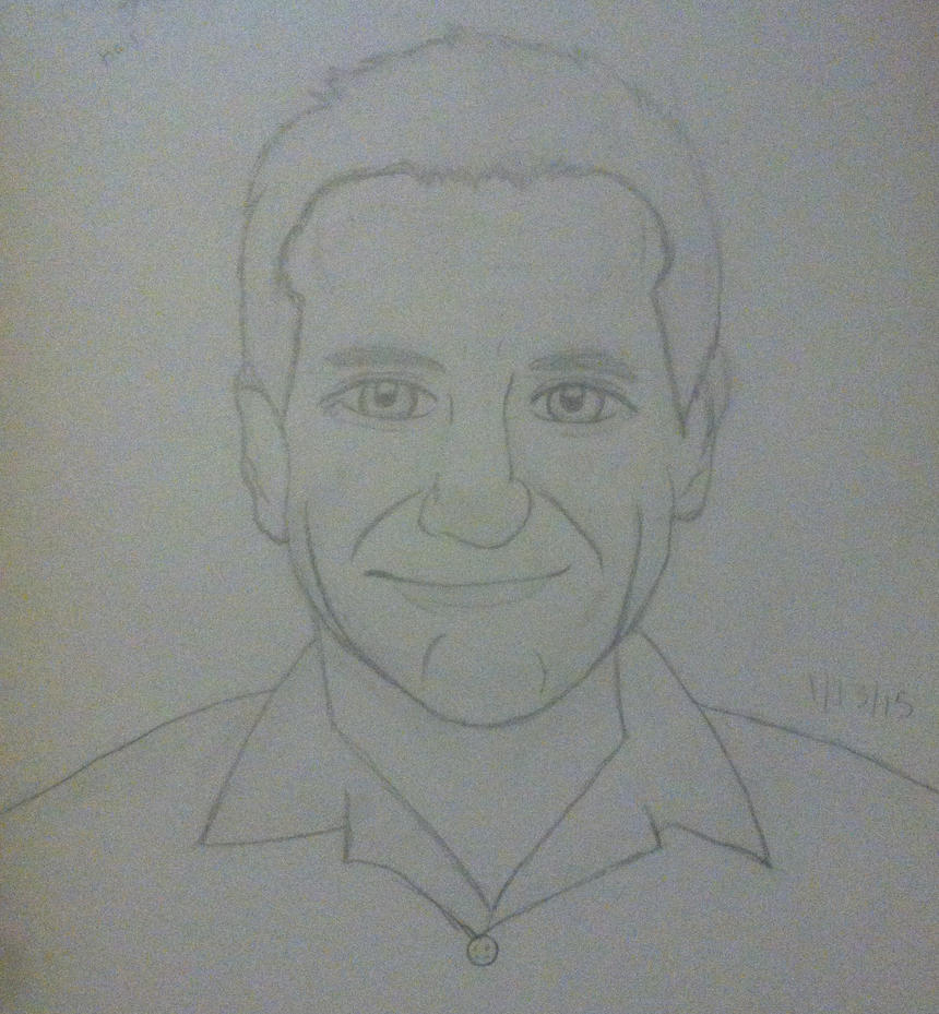 Robin Williams by RoboticSkittles
