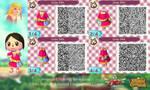 Animal Crossing NL: Zelda Skyward Sword QR Codes by etirz