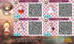 Animal Crossing NL: Asuna (SAO) QR Codes