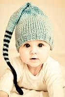 Blue hat by monikha