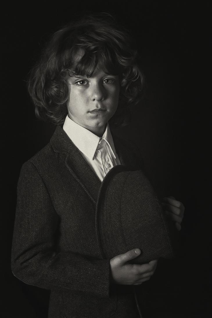 Vintage boy by monikha