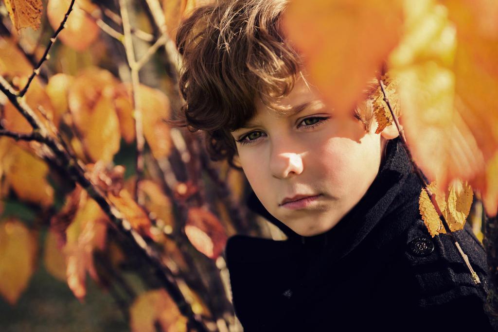 autumn boy by monikha