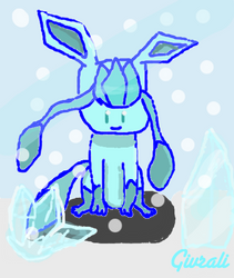 Glaceon On Eevees Playhouse Deviantart