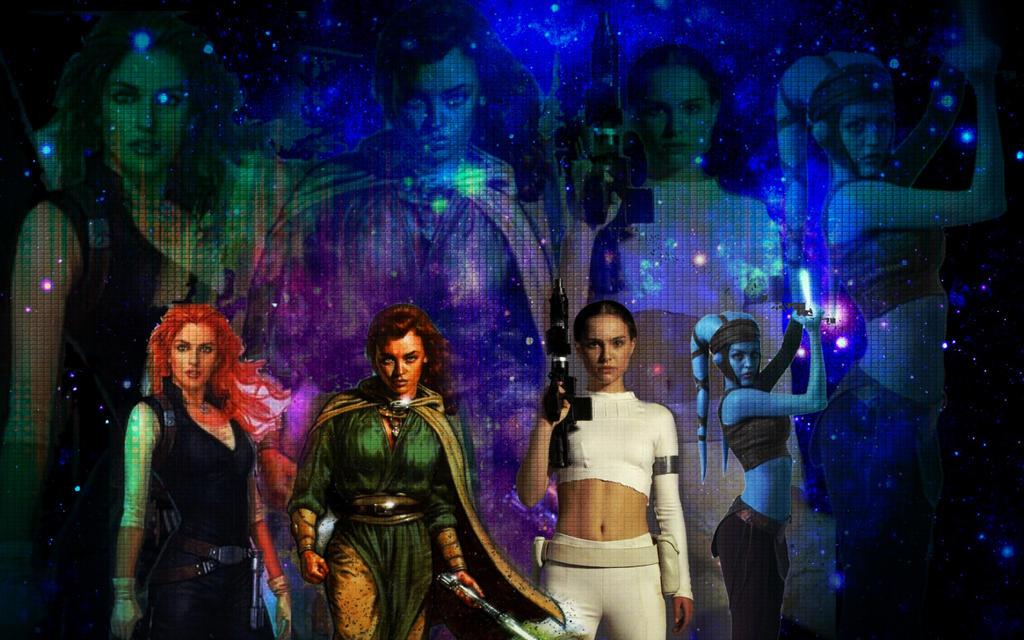Star Wars Girl Wallpaper By Elodiethefox051400 On Deviantart