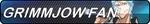 Grimmjow fan button by ElodieTheFox051400