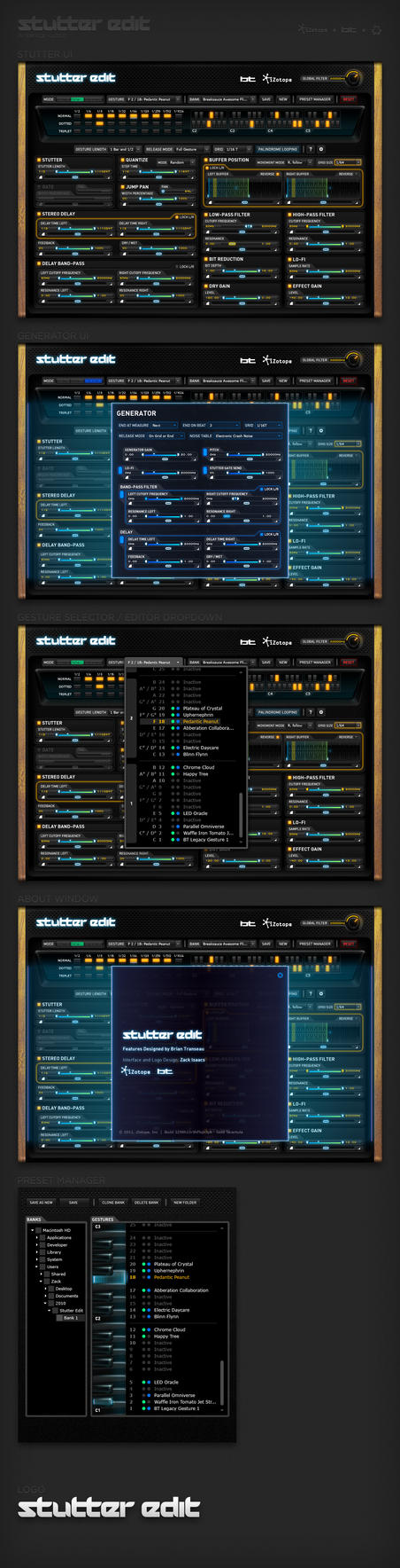 iZotope + BT: Stutter Edit by endosage